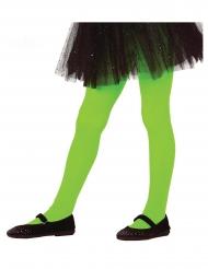 Collants verdes opacos menina