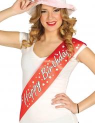 Cachecol Happy Birthday adulto