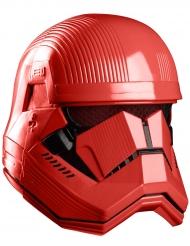 Máscara luxo integral vermelho Sith Trooper™ adulto
