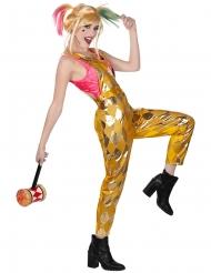 Macacão dourado Harley Quinn Birds of Prey™ mulher