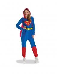Disfarce macacão Supergirl™ mulher
