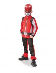 Disfarce clássico Power Rangers™ vermelho criança