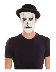 Máscara mímica com chapéu