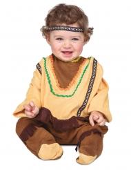 Disfarce com bandolete índio bebé