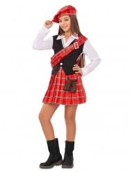 Disfarce pequena Escocesa menina