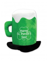 Chapéu caneca de cerveja verde adulto