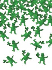 Confetis de mesa leprechaun verde 42 g
