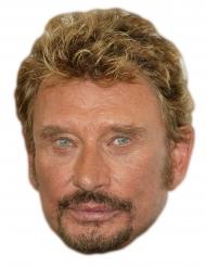 Máscara de cartão Johnny Halliday