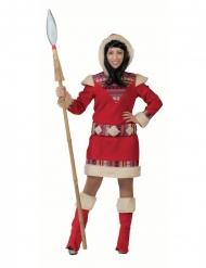 Disfarce vestido esquimó nanook mulher