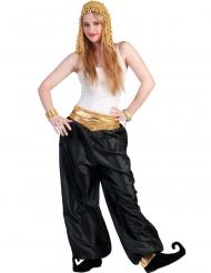 Calças pretas dançarina mulher