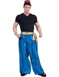 Calças azuis dançarino do deserto homem