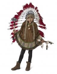 Poncho índio criança