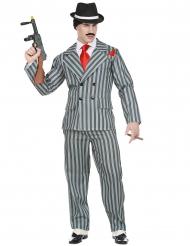 Disfarce gangster Nova-Iorquino homem