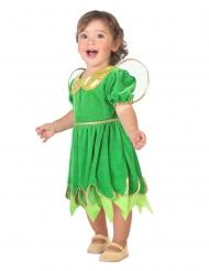 Disfarce fada verde bebé