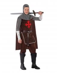 Disfarce de cavaleiro templário adolescente