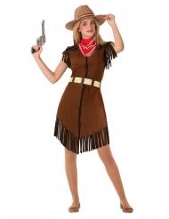 Disfarce cowgirl adolescente