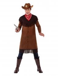 Disfarce cowboy adolescente