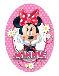 4 Decorações em ázimo Minnie™ 9.5 x 13 cm