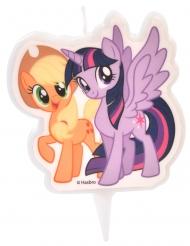 Vela My Little Pony™ Applejack e Twilight Sparkle 6.5 cm