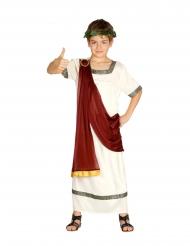 Disfarce imperador romano menino