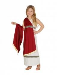Disfarce princesa romana menina