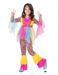 Disfarce hippie tule menina