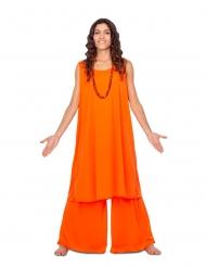 Disfarce discípula laranja mulher
