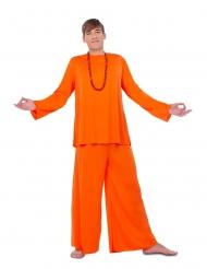 Disfarce discípulo laranja homem