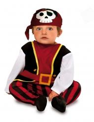 Disfarce pirata dos mares bebé