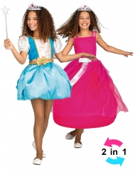Disfarce princesa mágica 2 em 1 menina