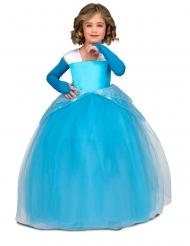 Disfarce princesa de baile azul menina