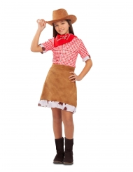 DIsfarce cowgirl do oeste menina