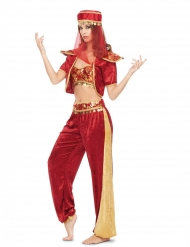 Disfarce dançarina Oriente sexy mulher
