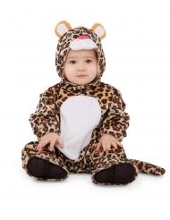 Disfarce leopardo às manchas bebé