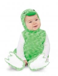 Disfarce patinho peluche verde