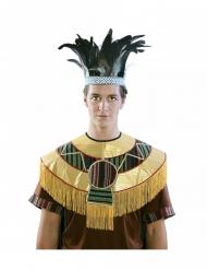 Coroa de penas Asteca adulto