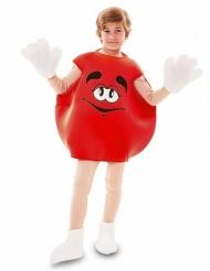 Disfarce rebuçado vermelho criança