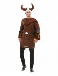 Disfarce Viking bárbaro homem