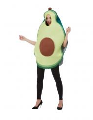 Disfarce abacate verde adulto