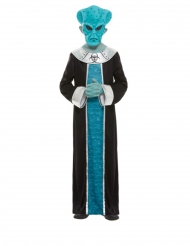 Disfarce alien azul menino