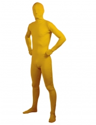 Disfarce adulto segunda pele amarelo adulto