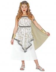 Disfarce vestido deusa grega menina