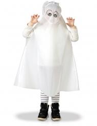 Poncho fantasma criança