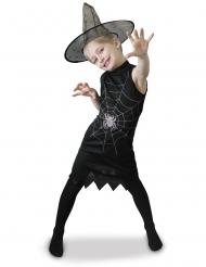 Disfarce bruxa com chapeu menina