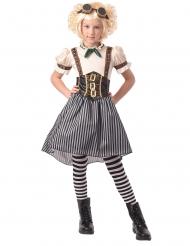 Disfarce steampunk menina