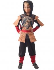 Disfarce ninja tradicional menino