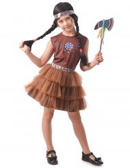 Disfarce índia chique menina