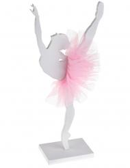 Bailarina de madeira 17 x 20 cm