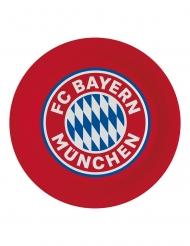 8 Pratos de cartão FC Bayern Munique™ 23 cm