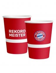 6 Copos grandes de cartão FC Bayern Munique™ 500 ml